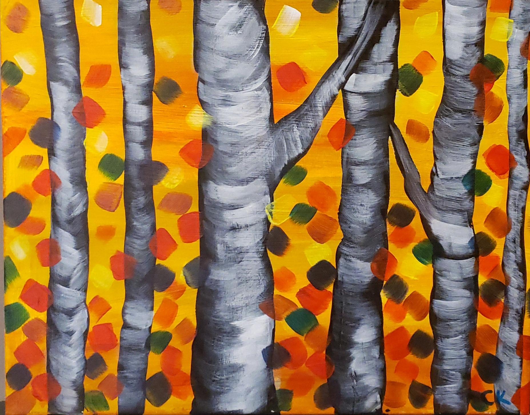 New! Autumn Birtch Trees