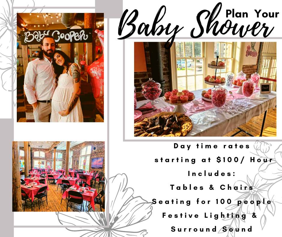 Baby Shower re open to the Public 3pm