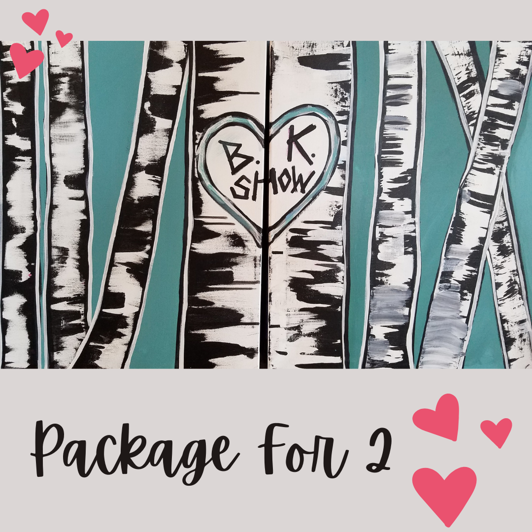 V-DAY PACKAGE DEAL  - Birch Trees