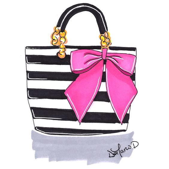 Pretty Bag with a Bow